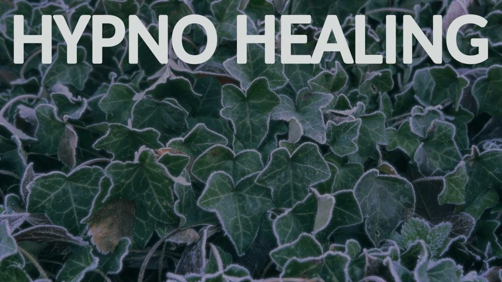 Repetitive and hypnotic images of natural cold plants combined with high-level binaural frequencies