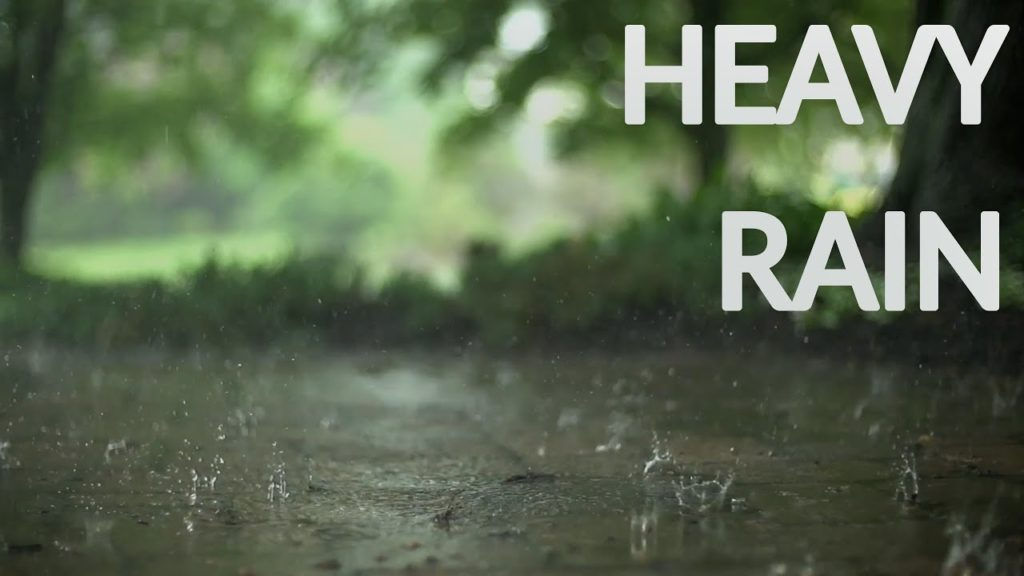 How to fall into deep relax instantly. Fast sleeping with the power of rainstorm and thunder sounds
