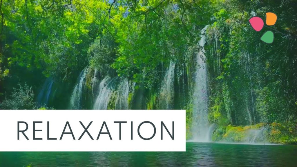 Relaxing Peaceful Waterfall Sounds with Ambience White Noise to Fall Asleep Quickly