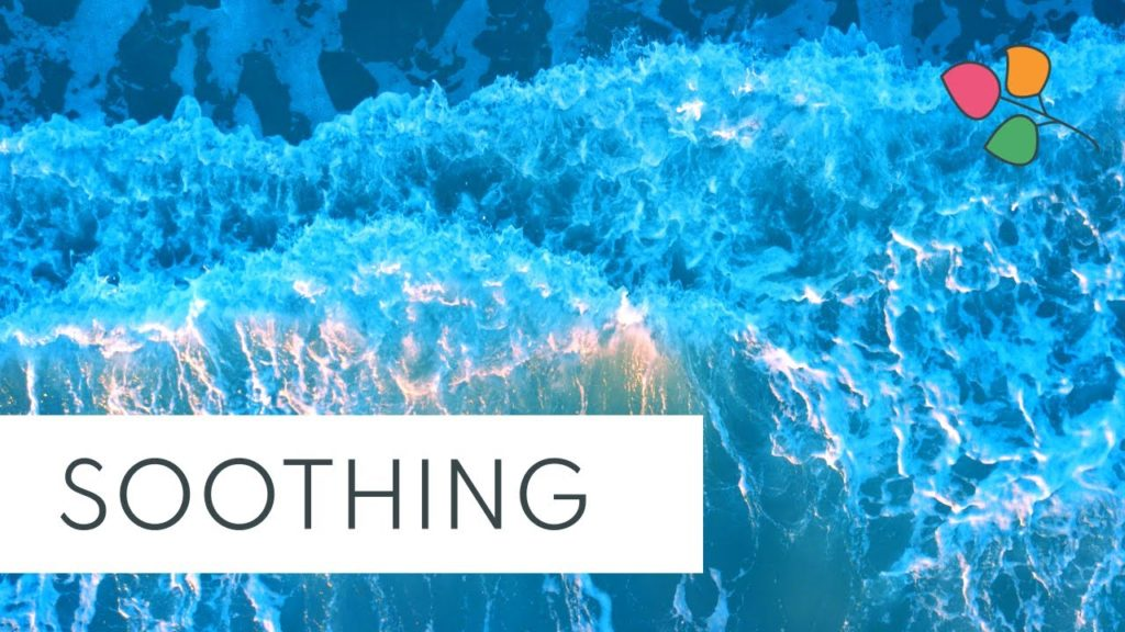 Calming Shooting Sea – 1 Hour Relaxation Sounds | Ocean Waves Nature White Noise Meditation Sleep
